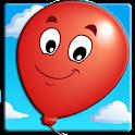 Kids Balloon Pop Game Free  icon