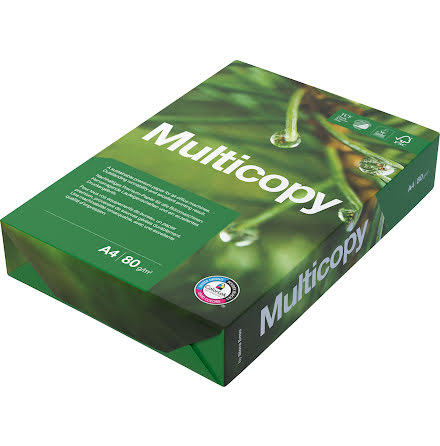 Papper Multicopy A4H 80g 500/p