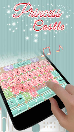 Princess Castle Keyboard Theme|玩個人化App免費|玩APPs