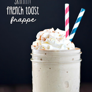 Skinny French Toast Frappe