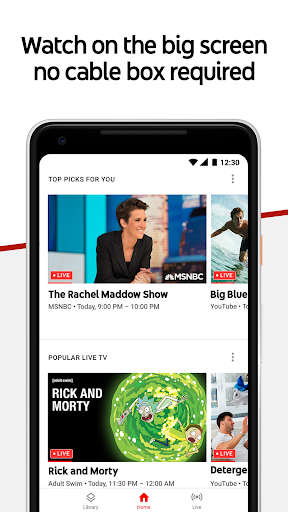 Download YouTube TV - Watch & Record Live TV MOD APK 3
