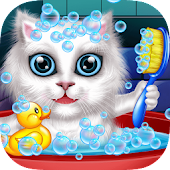Wash and Treat Pets -Kids Game