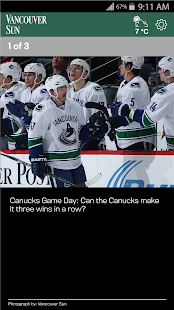 The Vancouver Sun- screenshot thumbnail