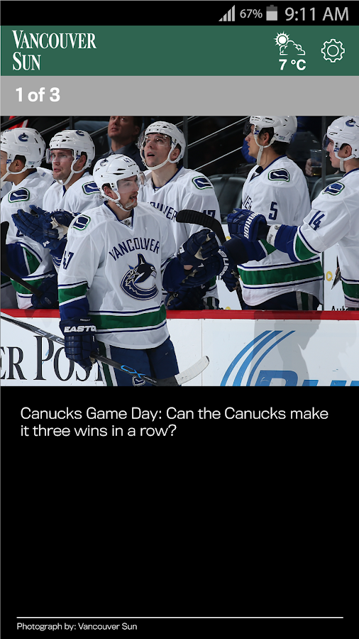 The Vancouver Sun- screenshot