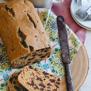 Tart Cherry Tea Bread Recipe