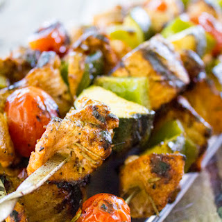 Rosemary and Lemon Turkey Kebabs.