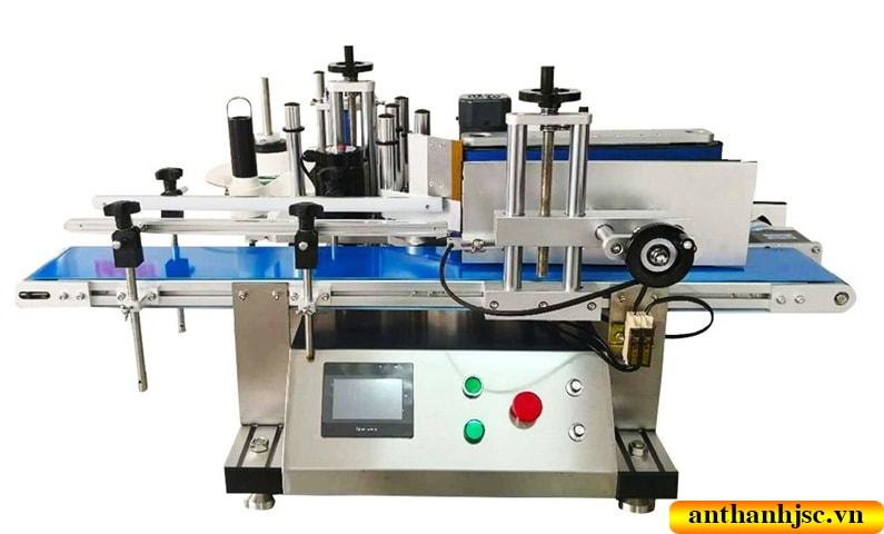 máy dán nhãn chai tròn tự động mini
