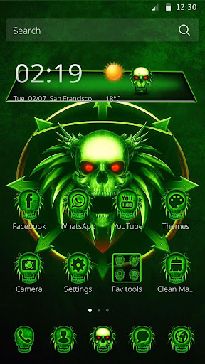 Skull Tech Theme