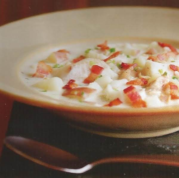 Creamy Seafood Chowder W/bacon,thyme,jalapeno Recipe