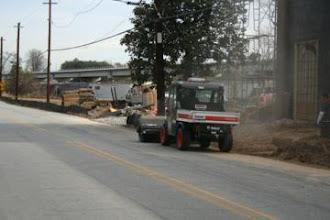 Photo: Keeping Site Clean , Peachtree Rd. Atlanta, Ga.