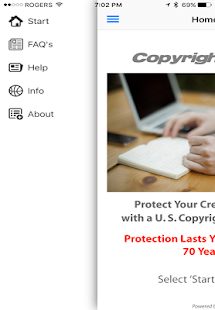 CopyrightsNow- screenshot thumbnail