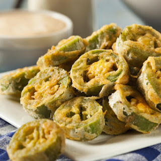 Fried Jalapeño Slices