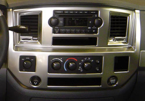 2008 Dodge Ram 2500 Radio Wiring Harness