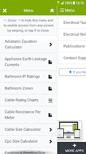 Electrical Tools & Reference Screenshot