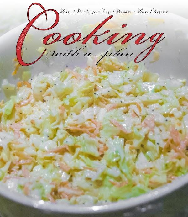 Andy's Amazing Coleslaw Recipe