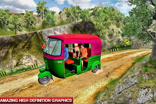 Mountain Auto Tuk Tuk Rickshaw : New Games 2020 screenshots 8