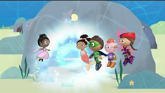 Super WHY! And The Little Mermaid