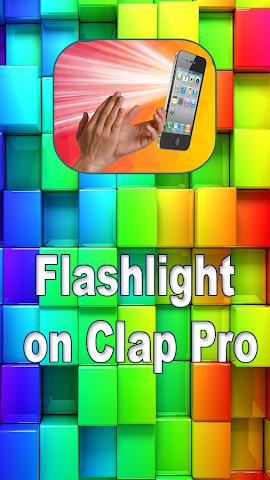 android Flashlight on Clap Pro Screenshot 3