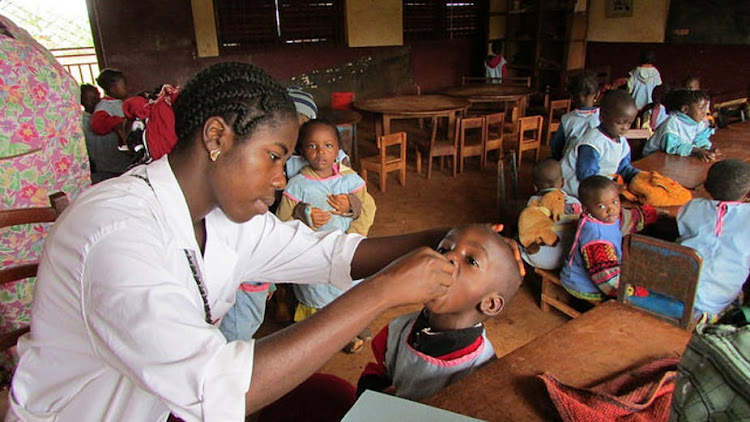 The polio vaccination campaign in Nigeria is being hampered.