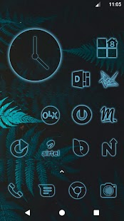 Glow Icon Pack - 8880+ icons Screenshot