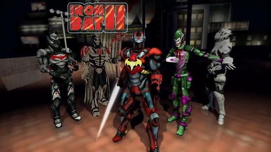 ApkMod1.Com Iron Bat 2 The Dark Night + (Unlimited Money) for Android Action Game
