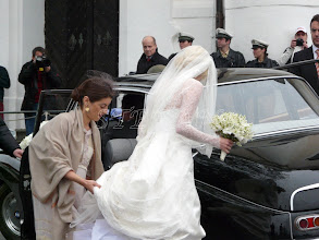 Photo: Arrival of the bride