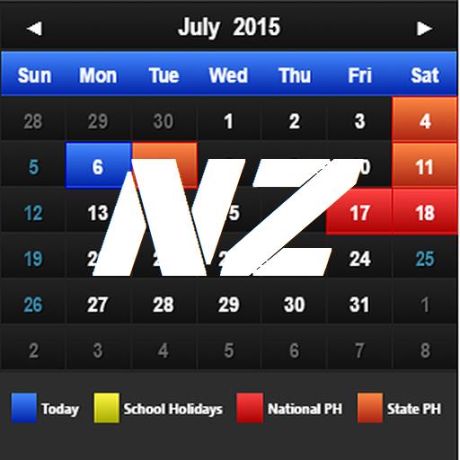 New Zealand Calendar 2017