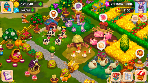 Wonder Valley: Enchanted Farm with Fairy tales android2mod screenshots 16