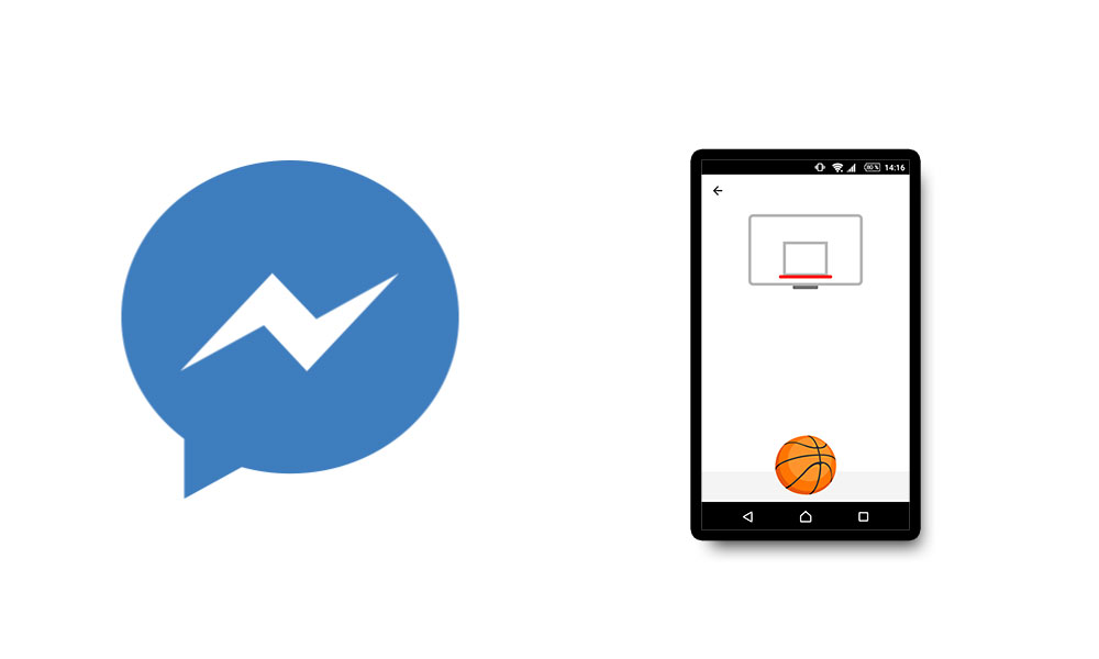 Trucco Facebook: gioco del Basket nascosto in Messenger