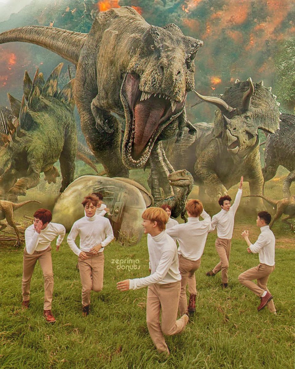 EXO Jurassic Park Edit