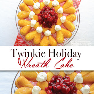 Twinkie Holiday Wreath Cake