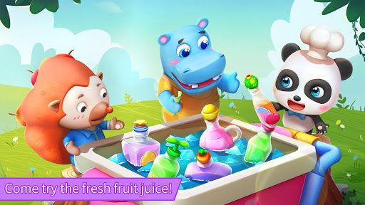 Baby Pandau2019s Summer: Juice Shop android2mod screenshots 5