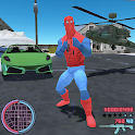 Spider Rope Hero Super World Street Crime Gangstar icon