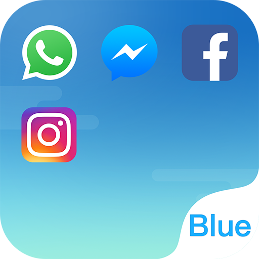 Dual Space - Multi Accounts & Fresh Blue Theme file APK for Gaming PC/PS3/PS4 Smart TV