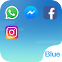 Dual Space - Multi Accounts & Fresh Blue Theme APK icon