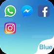 Dual Space - Le Thème Fresh Blue icon