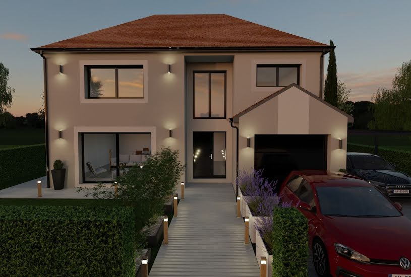 Vente Terrain + Maison - Terrain : 500m² - Maison : 140m² à Roissy-en-France (95700)