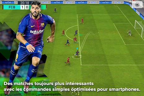 PES 2018 PRO EVOLUTION SOCCER Capture d'écran