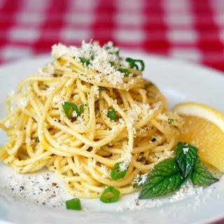 Lemon Spaghetti Salad