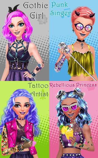 玩免費休閒APP|下載Punk Princess - Tattoo Design app不用錢|硬是要APP