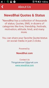 NewsBhai Quotes & Status- screenshot thumbnail