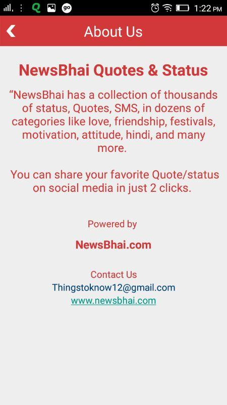 NewsBhai Quotes & Status- screenshot