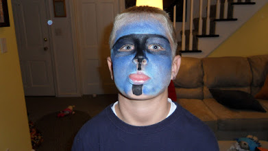 Photo: Boy Face Painting by Paola Gallardo from http://www.BestPartyPlanner.net