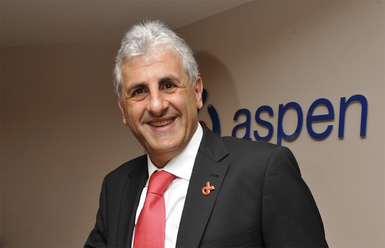 Aspen Pharmacare CEO Stephen Saad. Picture: FINANCIAL MAIL