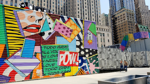 WTC street art by Todd Gray