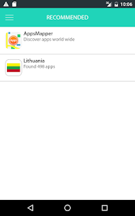 AppsMapper Lithuania- screenshot thumbnail