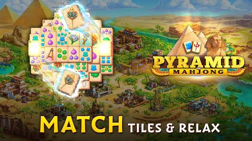 Pyramid of Mahjong: A tile matching city puzzle apkdebit screenshots 9