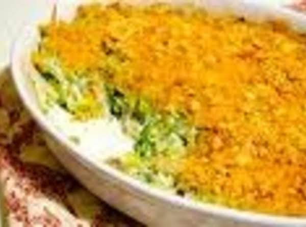 Aunt Pams Brocolli Cheese Cassarole Recipe