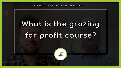 What is the grazing for profit course