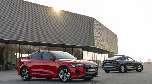El Audi E-Tron es líder del mercado en su segmento a nivel mundial